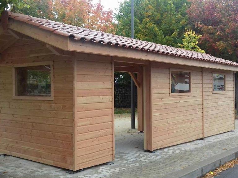 Abri de jardin bois 4